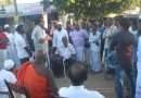 Meeting people in Karathive village