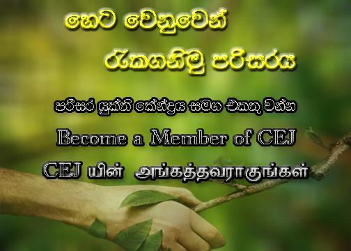Become a Member of CEJ